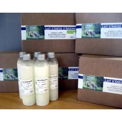 Cure de lait d'ânesse frais congelé
